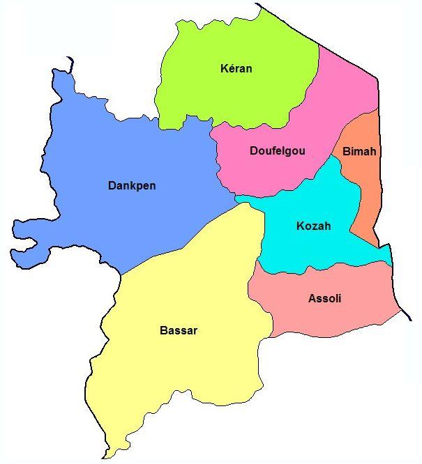 Region Kara, CHOCOTOGO